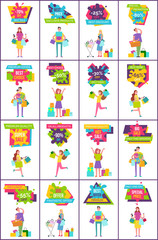 -70 Off Best Sale Collection Vector Illustration