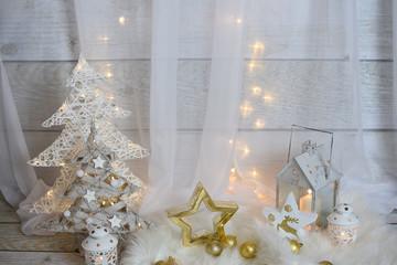 Boże Narodzenie Latarenki Świece
