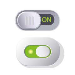 Vector Set of design interface switches