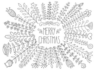 Vector Merry christmas Greetings