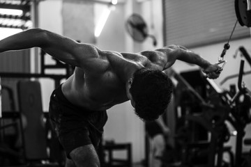 Iron Workout Photography series
