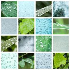 composition gouttes de pluie