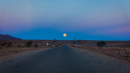 Horse Gate in desert
