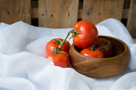 Fresh, Red and Ripe Tomatoes. What would you do with these?