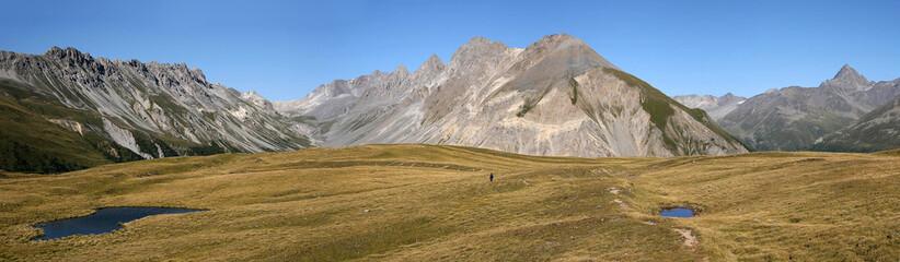 Weite auf dem Cuolm da Latsch, Graubünden