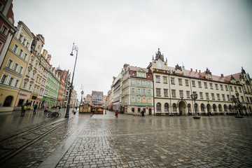 Central square of Wroclaw