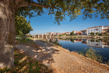 Miranda de Ebro cityscape in Burgos, Spain.