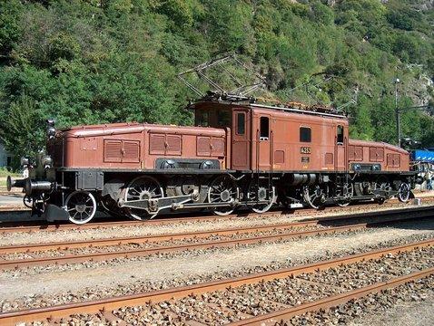 Krokodil Lokomotive Gotthard