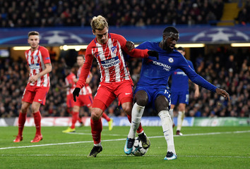 Champions League - Chelsea vs Atletico Madrid
