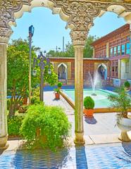 Visit Zinat Ol-Molk mansion, Shiraz, Iran