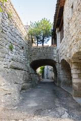 The street of Balazuc