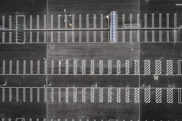 parking w centrum handlowym