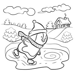 Kids coloring page