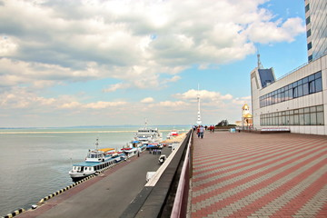 Здания и архитектура,морвокзал, порт,  Одесса, Украина