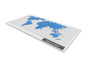 3D map of the world