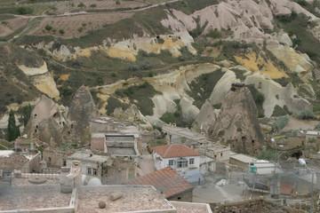 Capadocia (Turquia). Región histórica de Anatolia Central, que abarca partes de las provincias de Kayseri, Aksaray, Niğde y Nevşehir