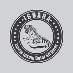 Iguana Badge