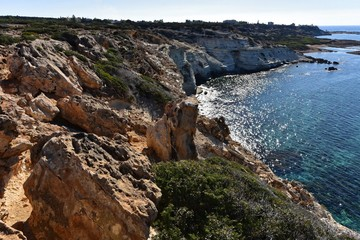 Zypern - Felsformation am Toxeftra Beach
