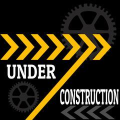 Under construction backgrouind
