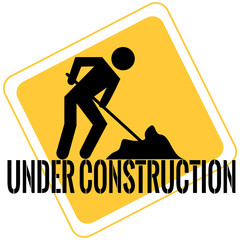 Under construction backgrouind