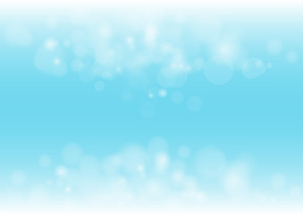 The Boken abstract beautiful Blue color lighten Background.