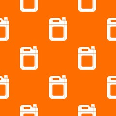Plastic jerry can pattern seamless