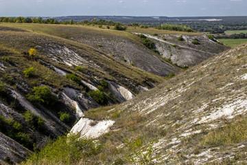 Divnogorsky Cretaceous Canyon, Voronezh Region, Russia