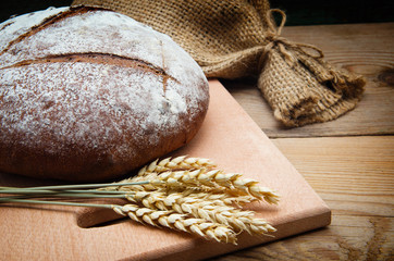 Wall Mural - Freshly baked traditional bread