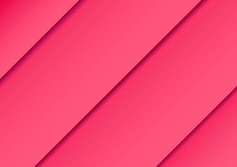 diagonal pink color background with shadow effect