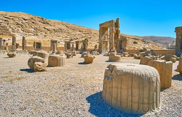 Ceremonial capital of ancient Persia