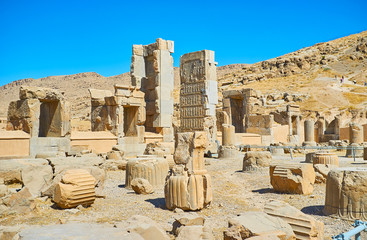 Excursion to Persepolis, Iran