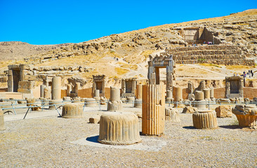The ancient cities of Persia