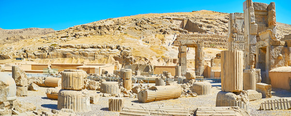 Persepolis archaeological museum in Iran