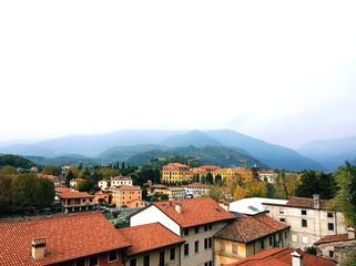 paesaggio a Bassano del Grappa