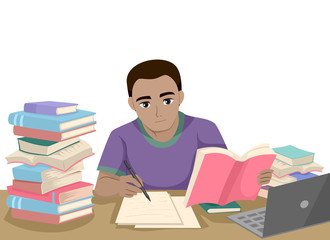 Teen Black Guy Study