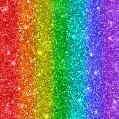 Multicolored rainbow glitter background. Vector