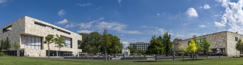 Campus der Uni Frankfurt