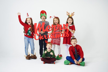 We wishing you a wonderful Christmas
