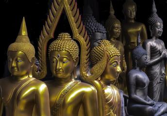 Buddha statues Bangkok Thailand