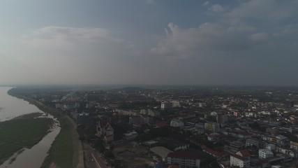Laos Vientiane vue du ciel