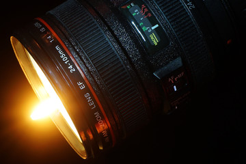 Leuchtendes Objektiv