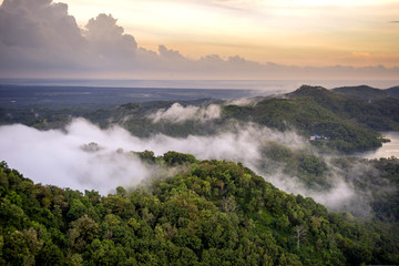 Scenic View Of Kalibiru National Park In Java, Indonesia