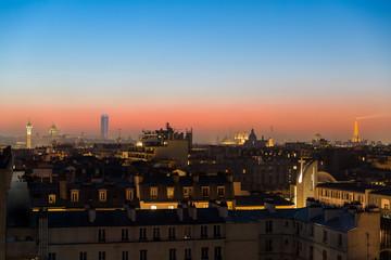 Sunset a Paris