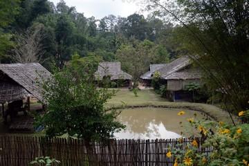 Palong houses, Baan Tong Luang, Thailand