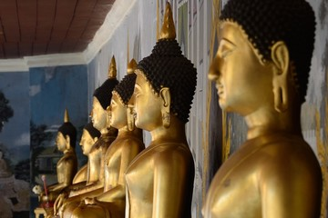 Buddhas at Wat Phra That, Doi Suthep, Thailand
