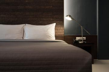 Dark color bedroom