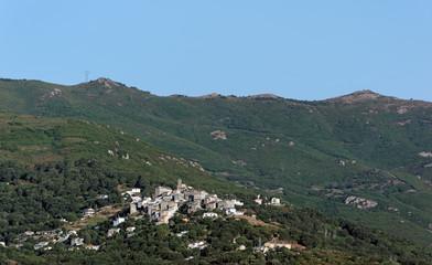 village de Furiani en haute Corse