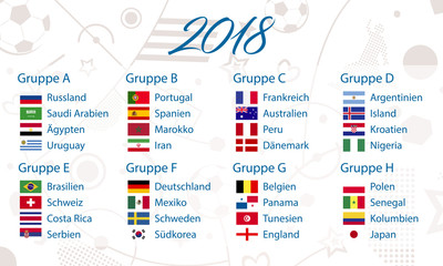 groups of 2018 soccer worldcup