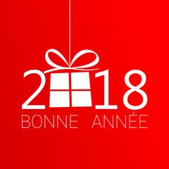 2018 - Bonne année neige - happy new year snowflake