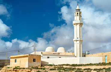 Mosque at Ksar Ouled Soltane near Tataouine, Tunisia